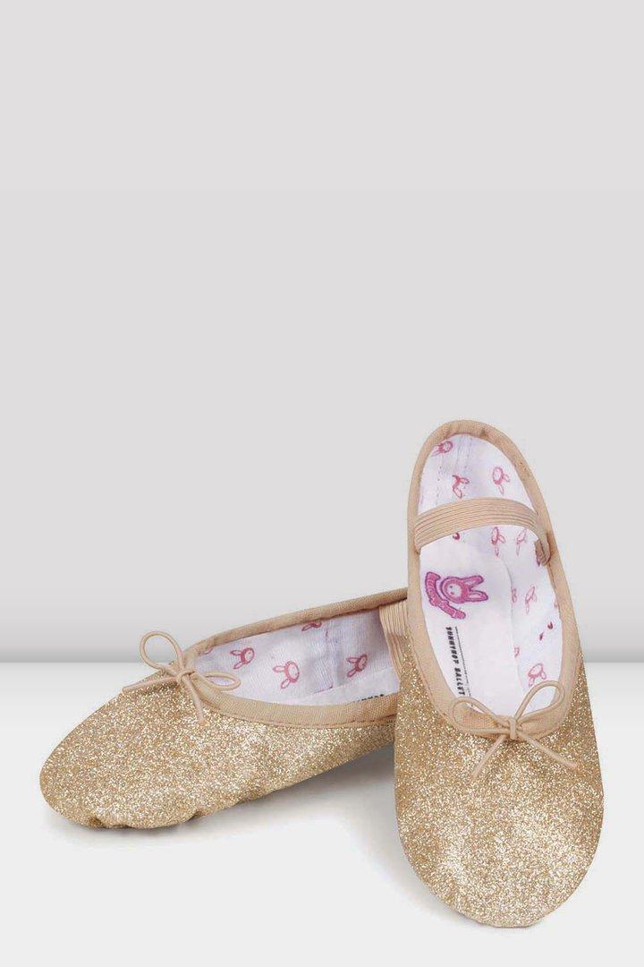 Bloch Glitter Ballet Shoes - Duo Dance