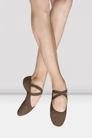 Bloch S0284L Performa Ballet Shoes in Cocoa