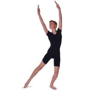 Adam Leotard in Black - Men's Sizes