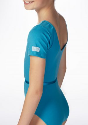 (B) Chloe RAD leotard in Marine Blue