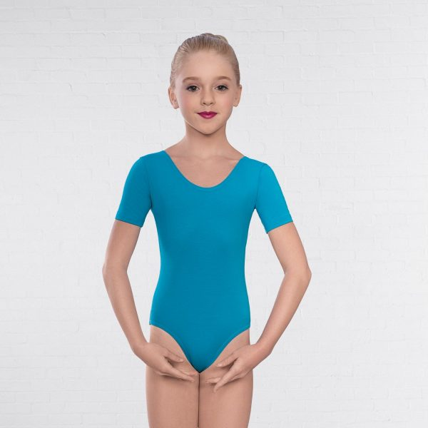 Leotard in Marine Blue