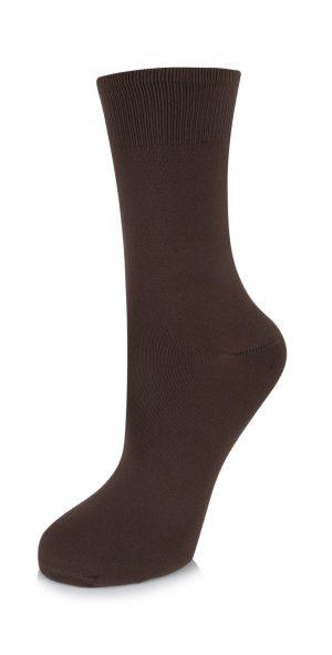 (h) Ballet Socks in Brown