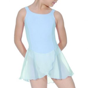 (a) RV Charlotte Leotard Dress in Aqua Blue