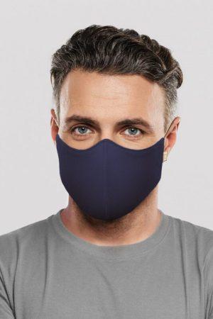 Bloch Face Mask - Navy