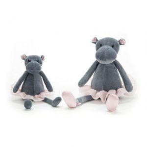 Jellycat Dancing Darcey Hippo - Small
