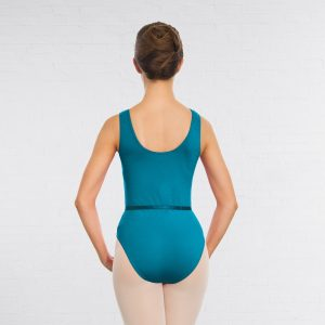 Leotard in Teal and Mulberry - Adult Sizes