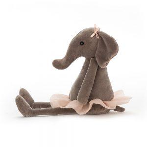 Jellycat Dancing Darcey Elephant - Small