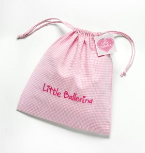 Little Ballerina Drawstring Bag